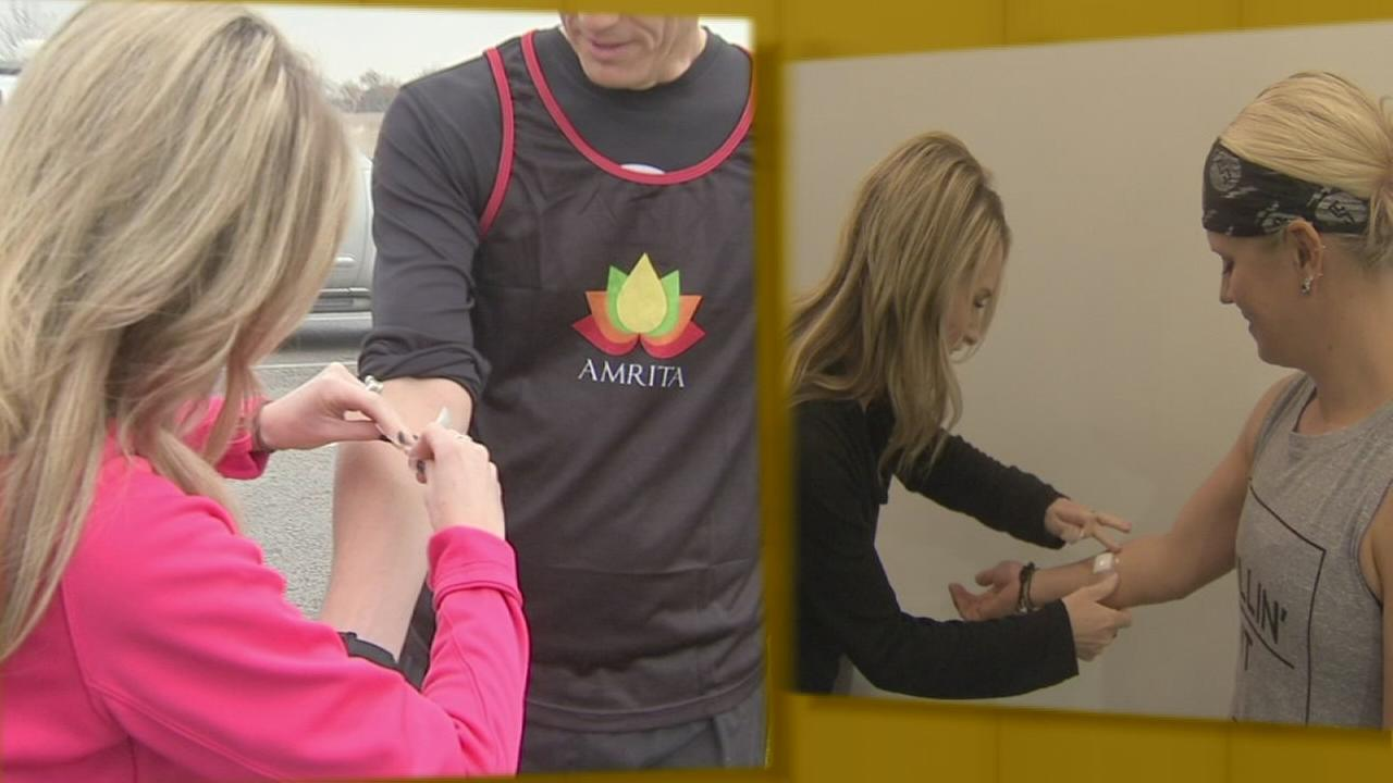 VIDEO: Taking the sweat test