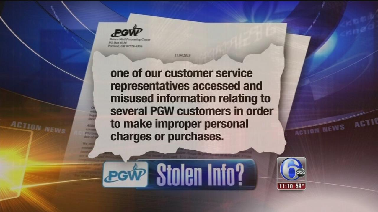 VIDEO: Stolen info at PGW?