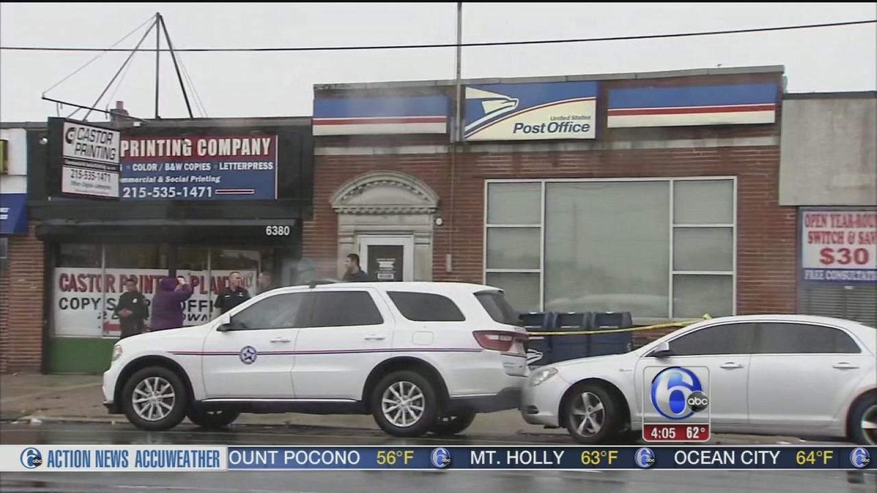 VIDEO: Post office robbed in Northeast Philadelphia