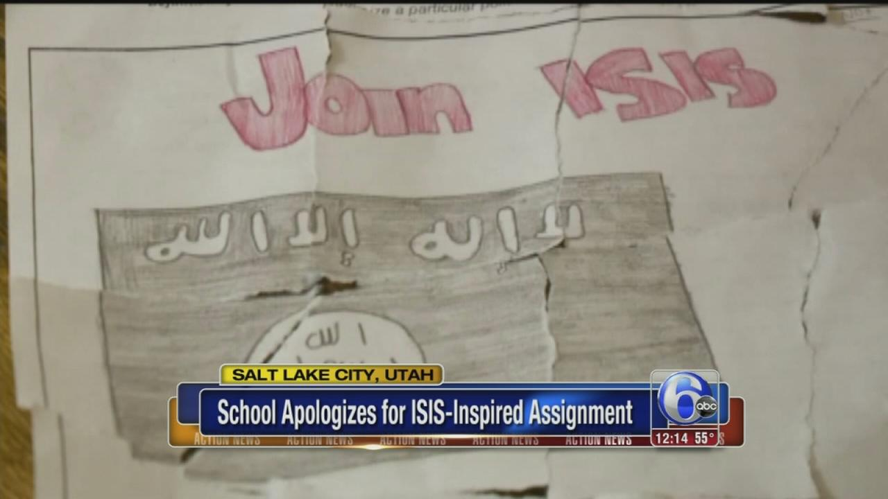 VIDEO: School apologizes for ISIS inspired assignment