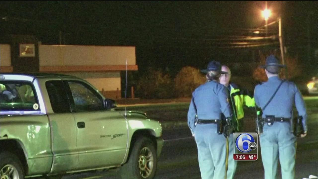 VIDEO: Ped struck, killed in Delaware
