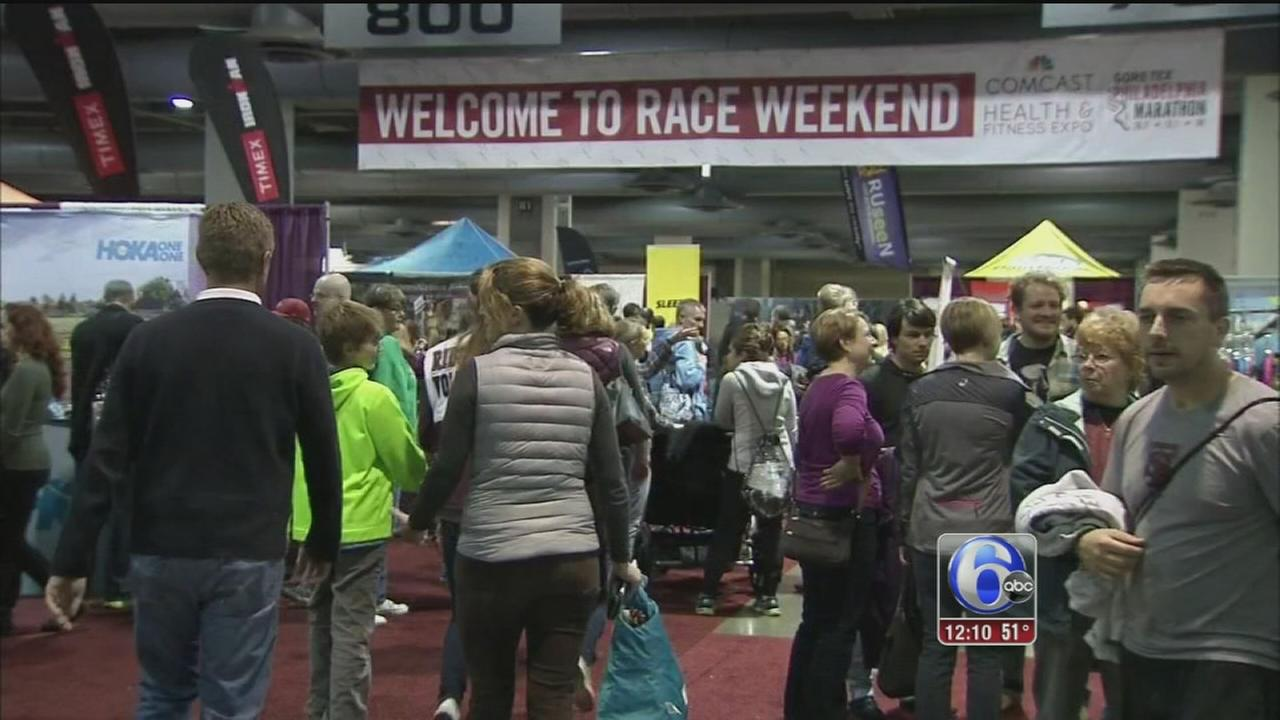 VIDEO: Runners prep for big race