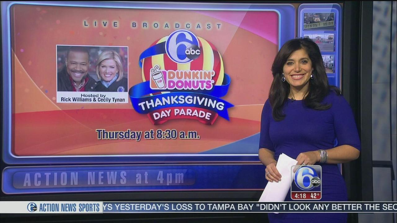 VIDEO: Preps underway for annual Thanksgiving Day parade