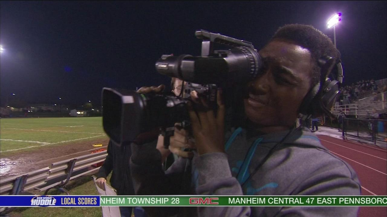 VIDEO: Students broadcast game at North Penn