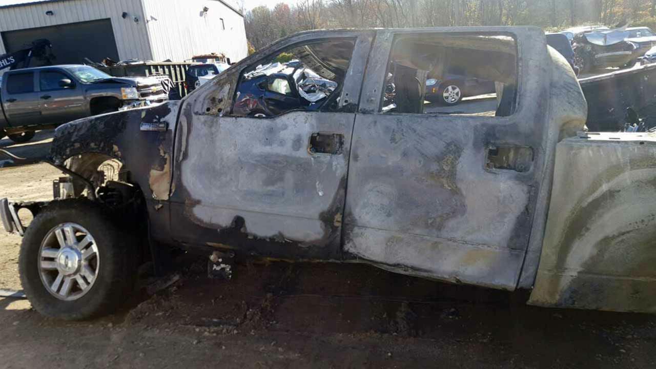 PHOTOS: Fiery crash on I-295 in W. Deptford Deptford, N.J.