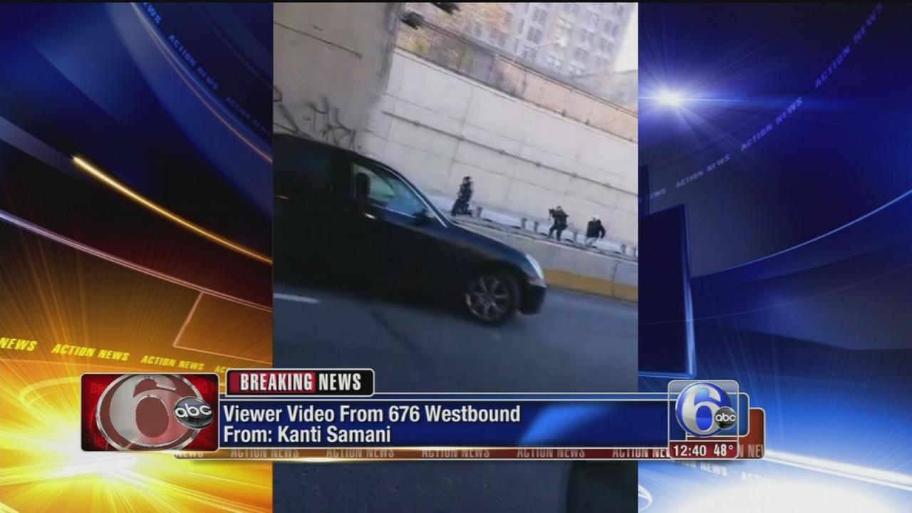 VIDEO: Viewer video of police chasing suspects