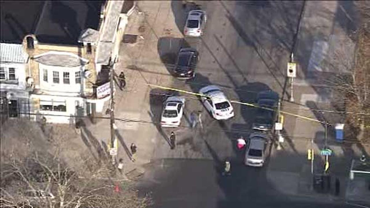 Police are on the hunt for a suspect who they say shot a man in the mouth in Wynnefield section of Philadelphia.