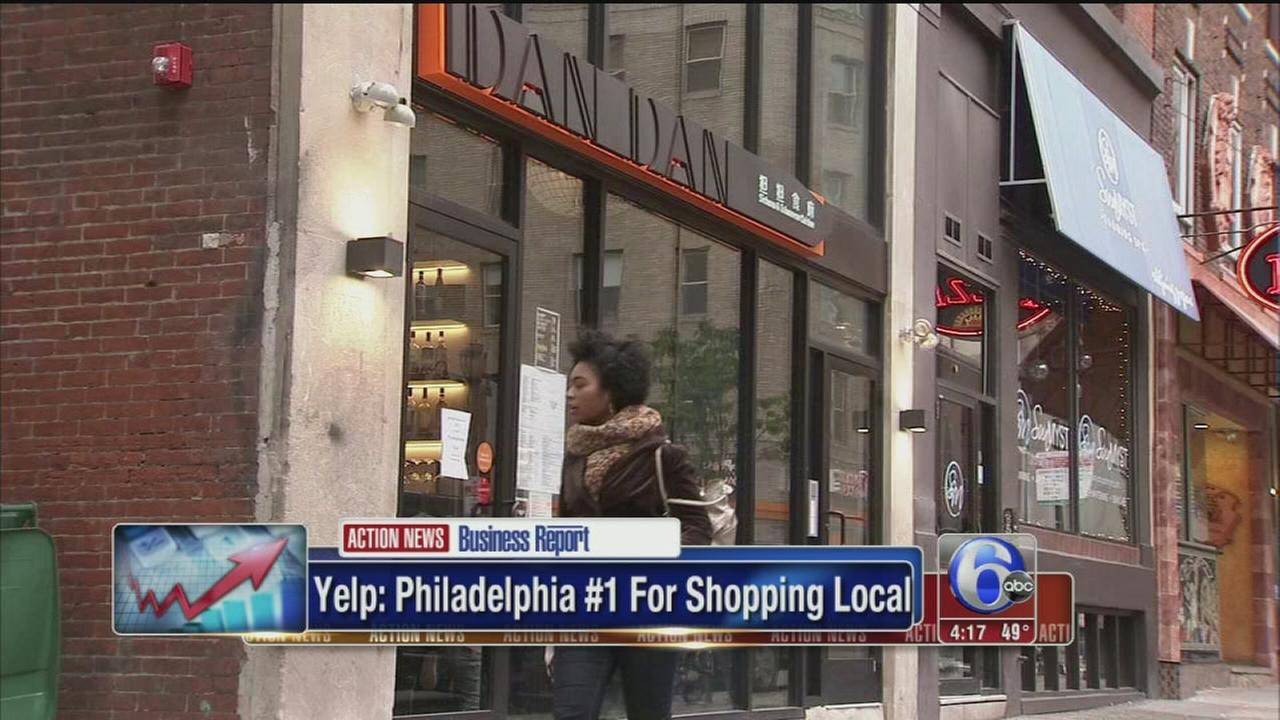 VIDEO: Yelp votes Philly top spot for local shopping