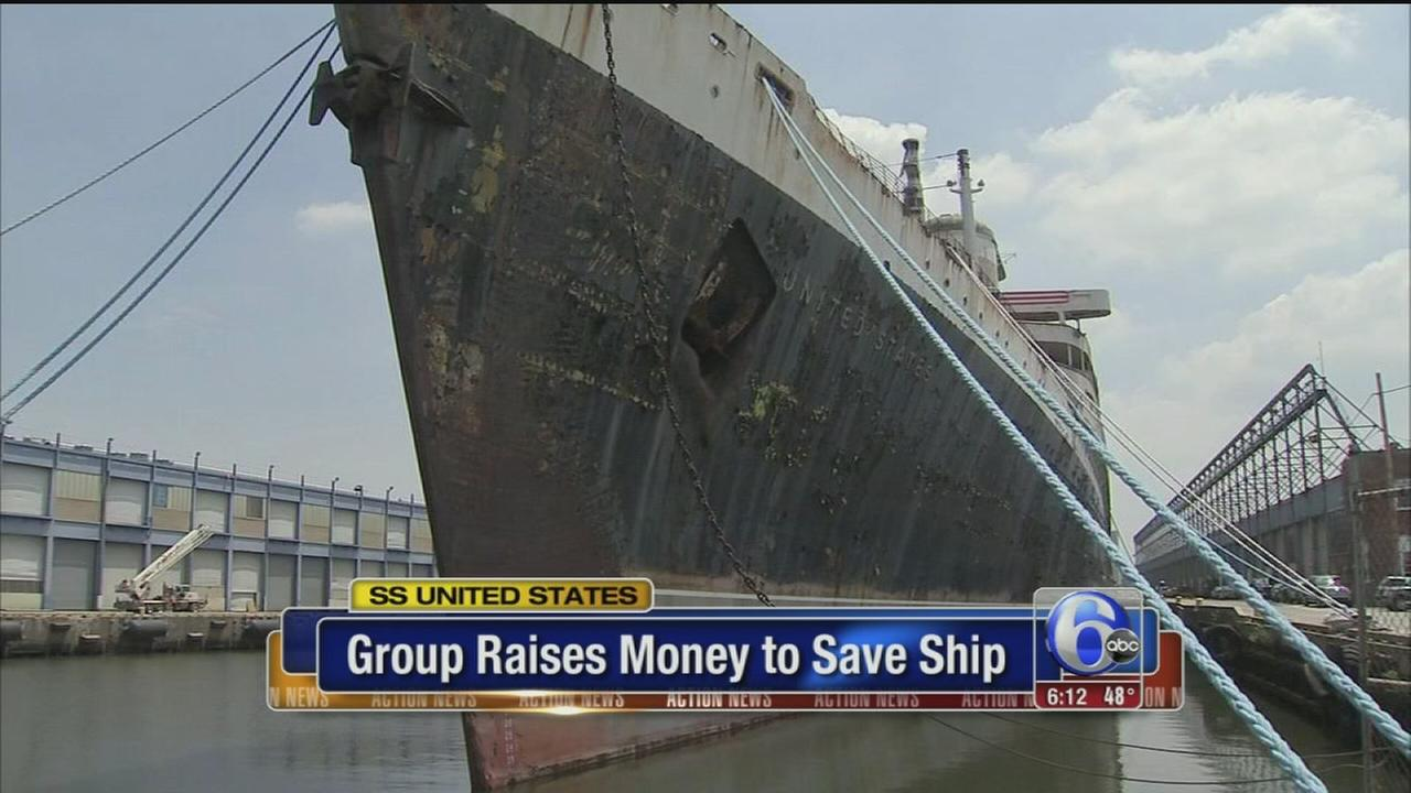 VIDEO: Group raises money to save ship