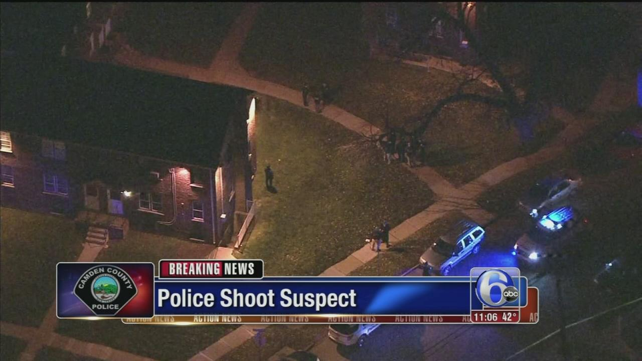 VIDEO: Police shoot suspect in Camden