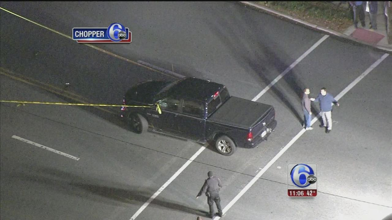 VIDEO: Pedestrian struck in Conshohocken