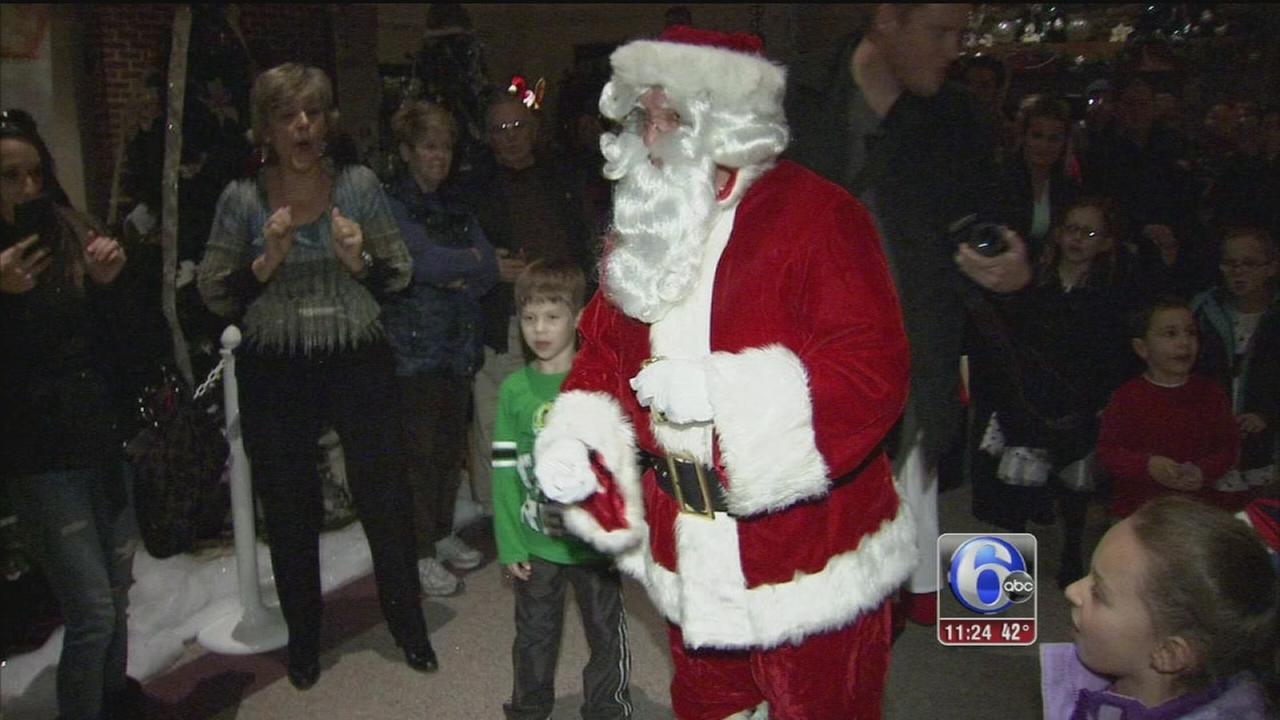 Christmas season kicks off in Bucks County