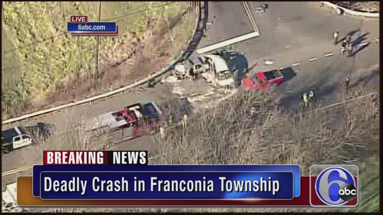 VIDEO: Deadly crash in Franconia Twp.