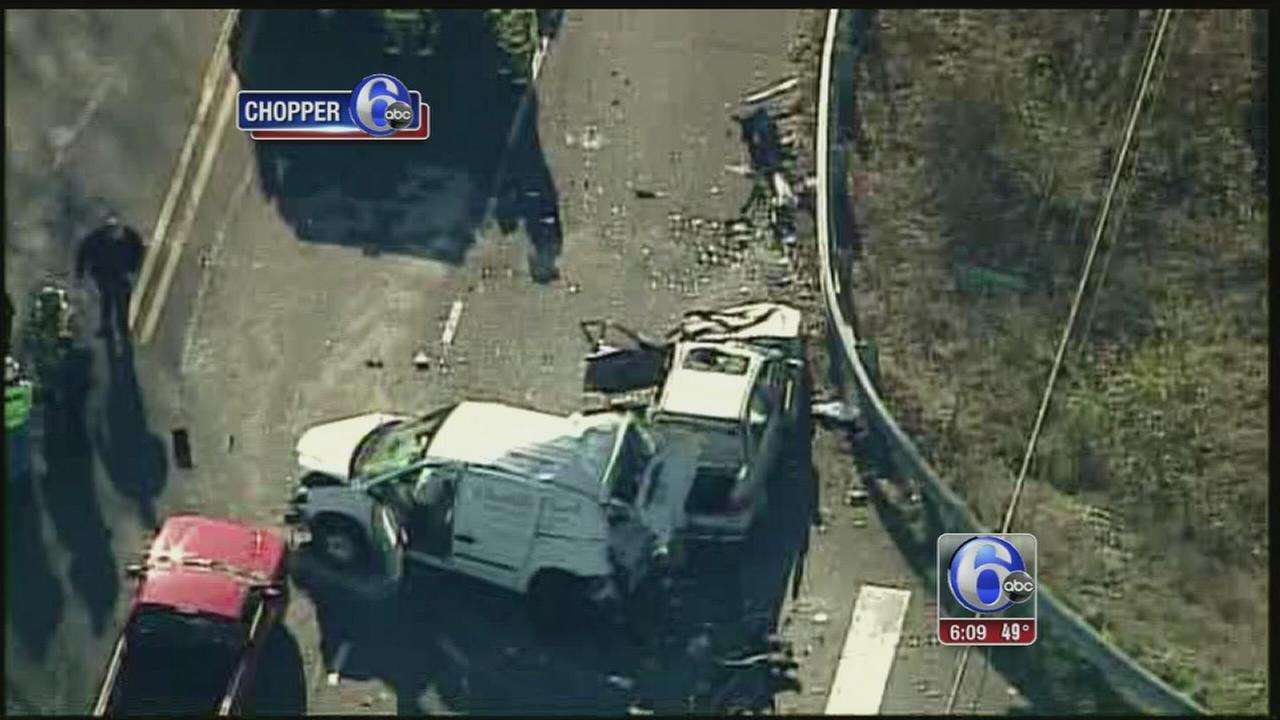 VIDEO: 1 killed, 3 injured in Montgomery County crash