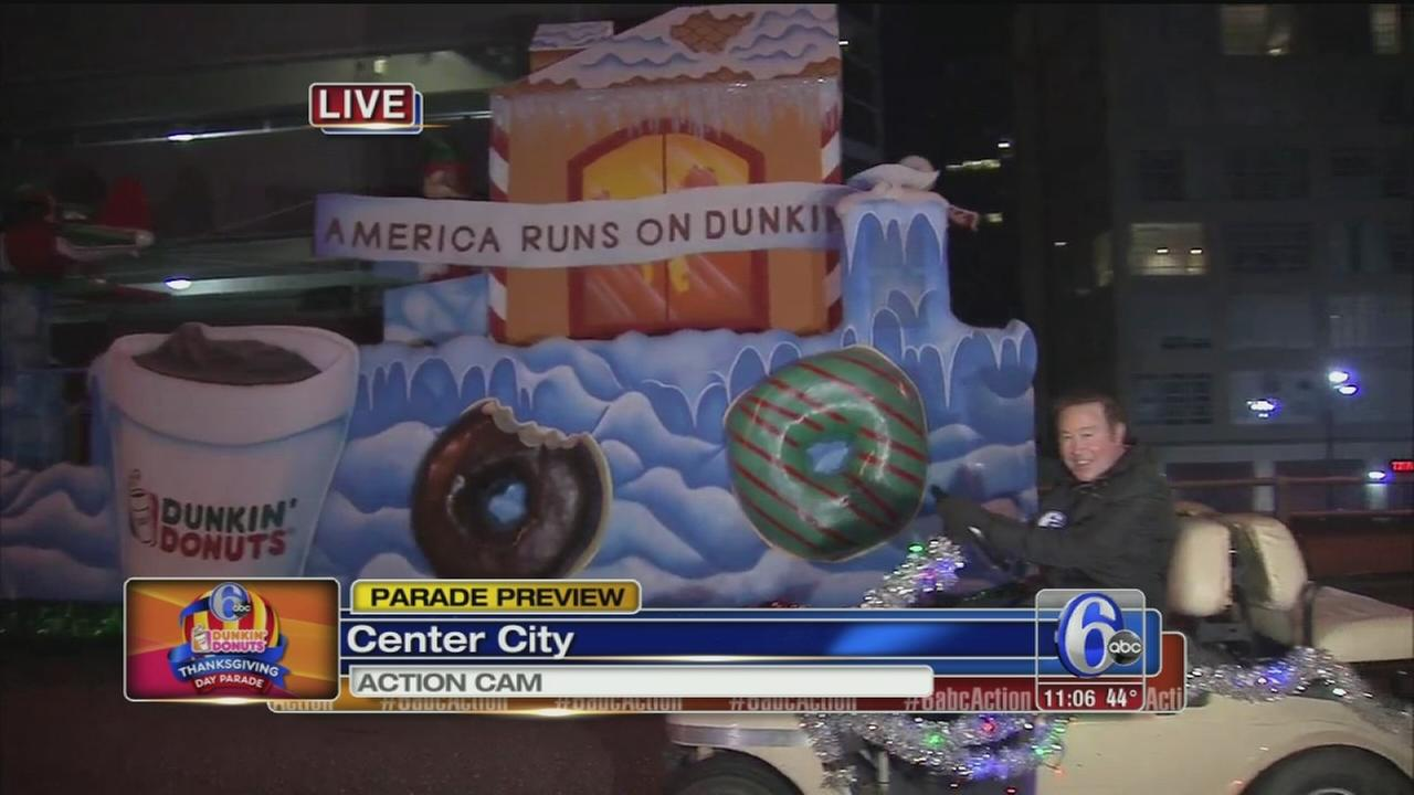 VIDEO: Danns TDay Parade preview