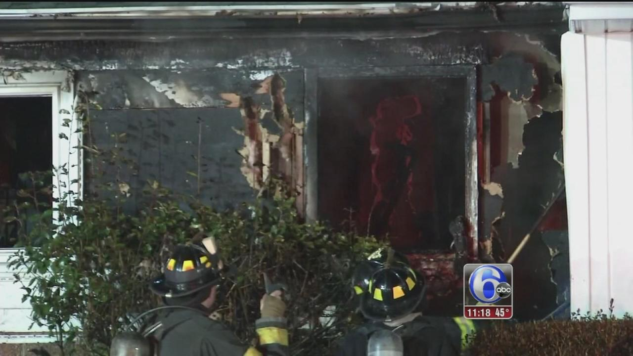 VIDEO: Newark, Del. house fire