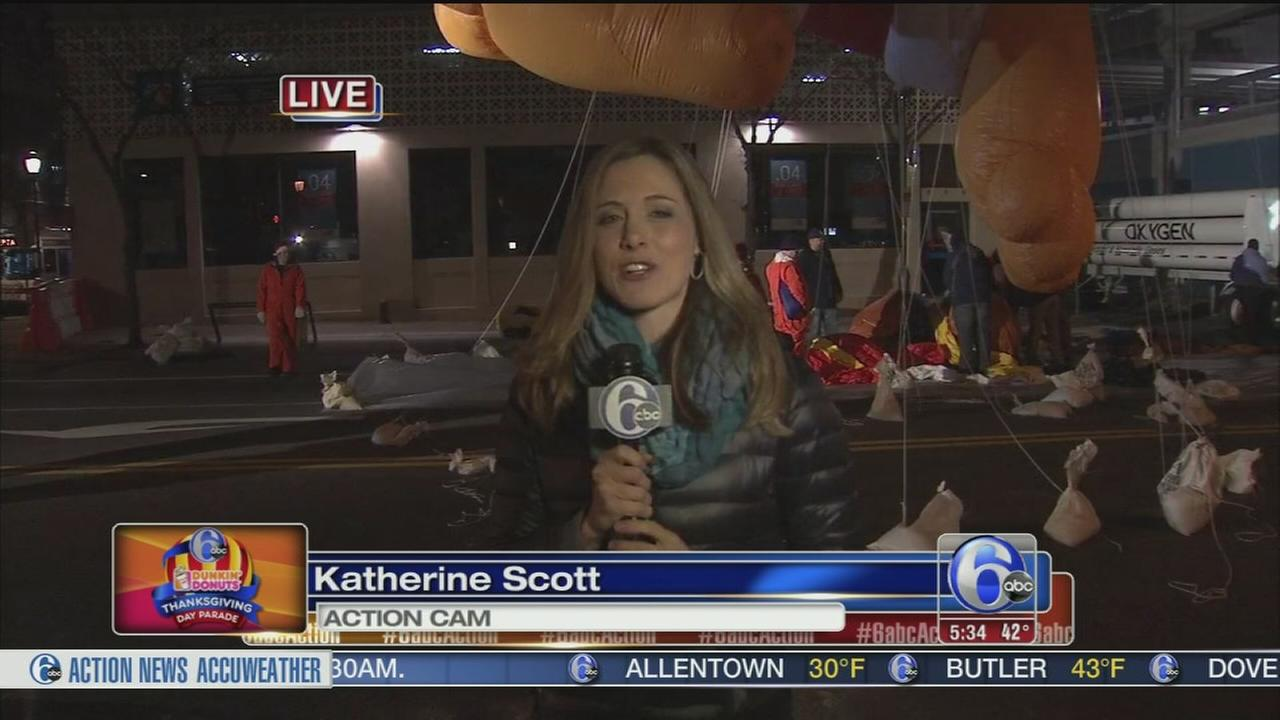 VIDEO: Katherine Scott reports on 6abc Thanksgiving parade