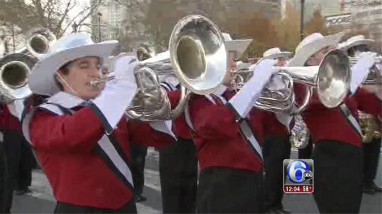 VIDEO: Katherine Scott reports from the parade route