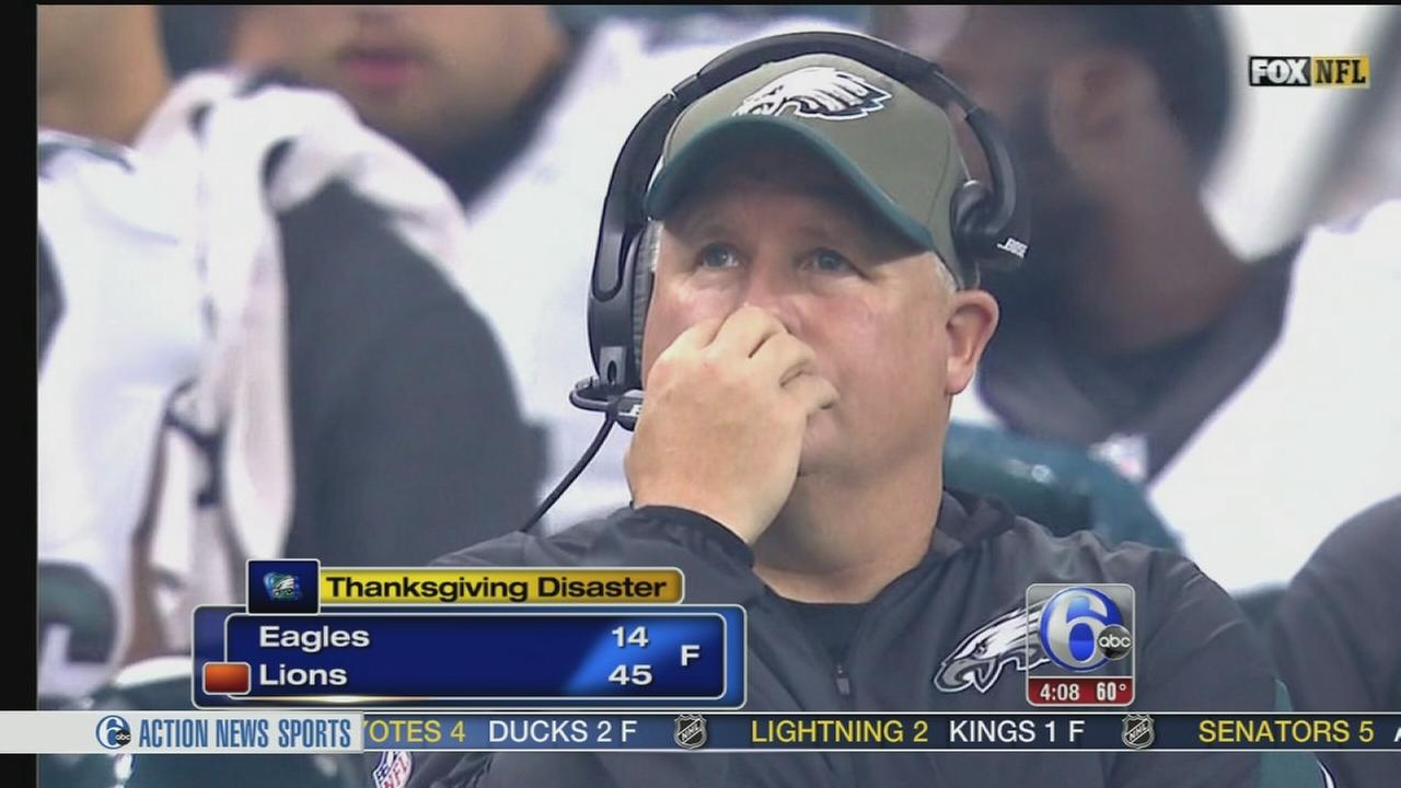 VIDEO: Eagles Thanksgiving disaster