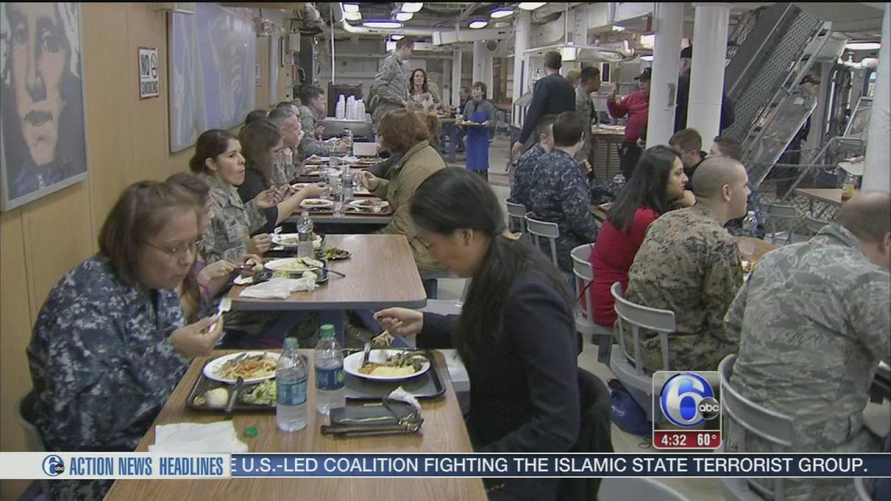 VIDEO: Honoring military on TDay