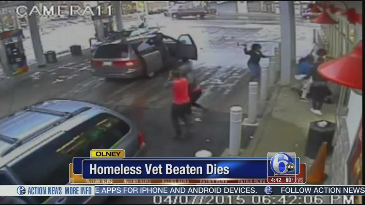VIDEO: Homeless vet beaten dies