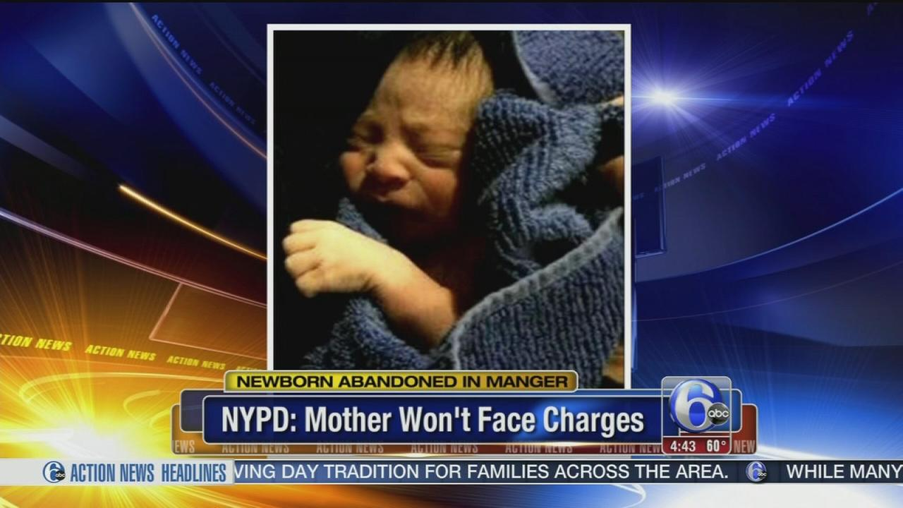 VIDEO: Mom not charged in NYC