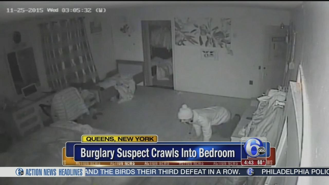VIDEO: Home invasion suspect