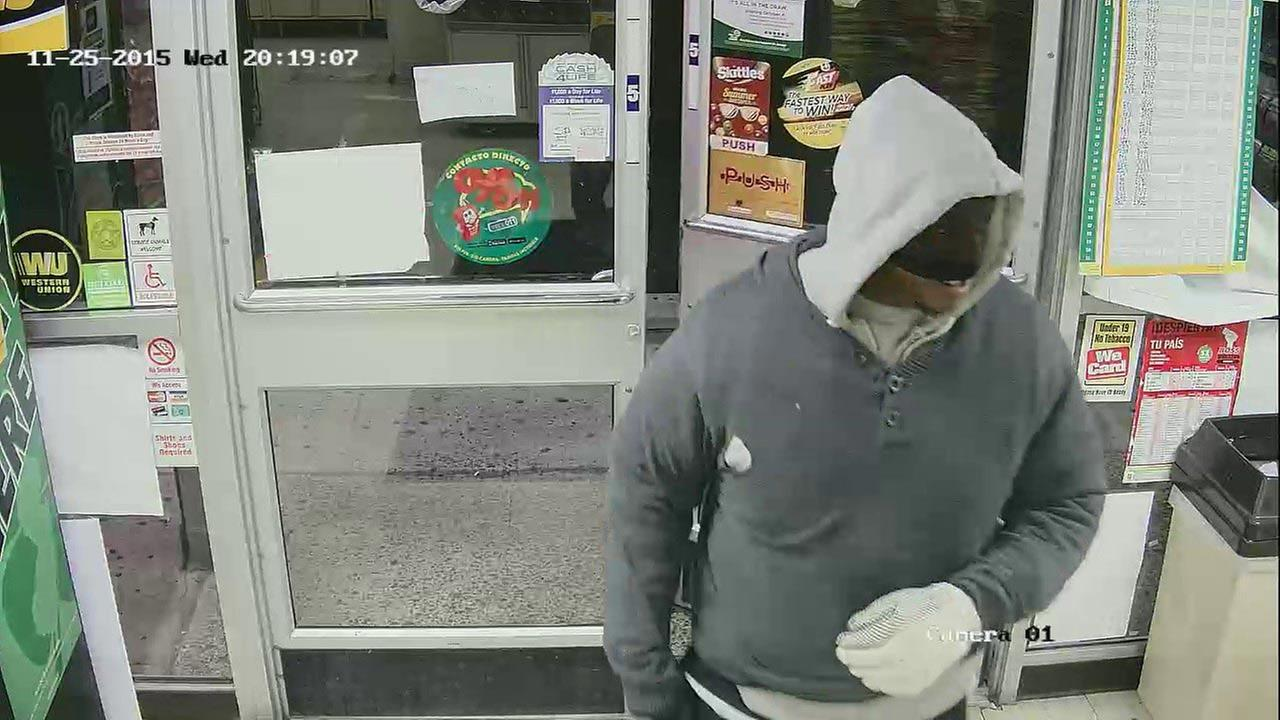 Police are seeking the publics help in identifying a suspect in connection with the fatal shooting of convenience store clerk in Burlington County.