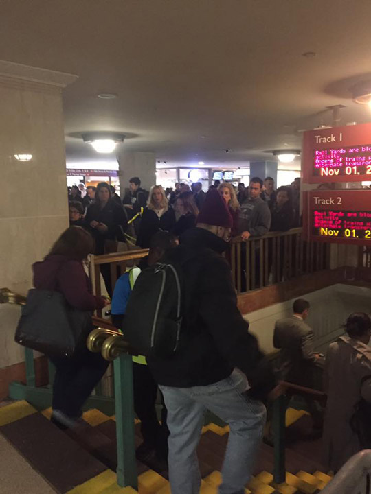 <div class='meta'><div class='origin-logo' data-origin='none'></div><span class='caption-text' data-credit='Jessica Nash'>The scene at Suburban Station on November 1, 2016.</span></div>