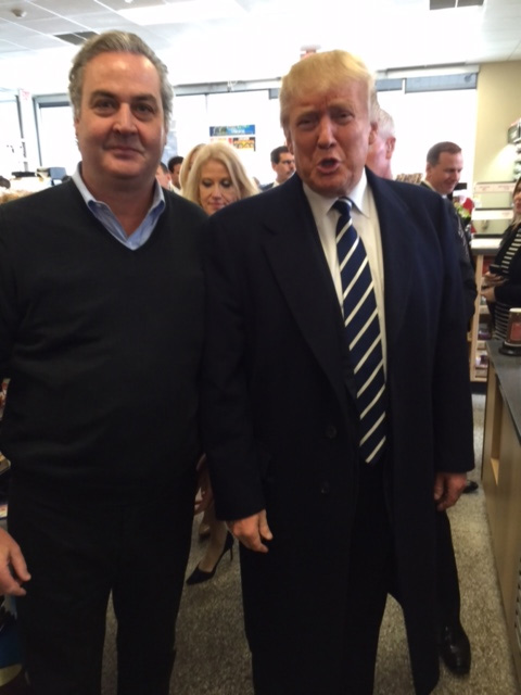 <div class='meta'><div class='origin-logo' data-origin='WPVI'></div><span class='caption-text' data-credit=''>Republican presidential candidate Donald Trump stops at a Wawa in King of Prussia, Pa.</span></div>