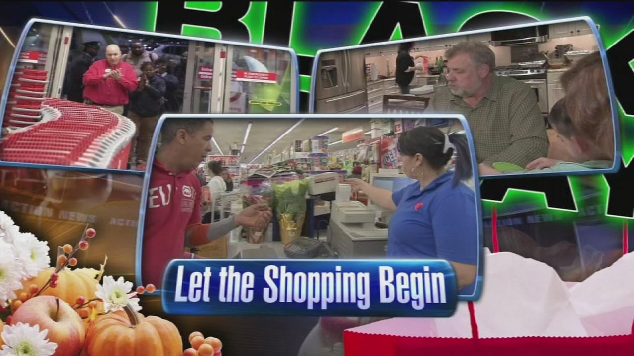 VIDEO: Black Friday Eve shopping