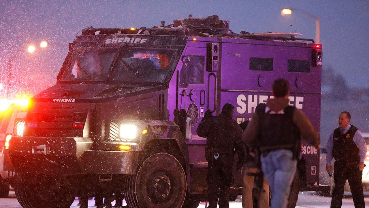 One police officer has died after a shooter was in a gun battle with police at a Colorado Springs Planned Parenthood clinic Friday, law enforcement sources confirm.