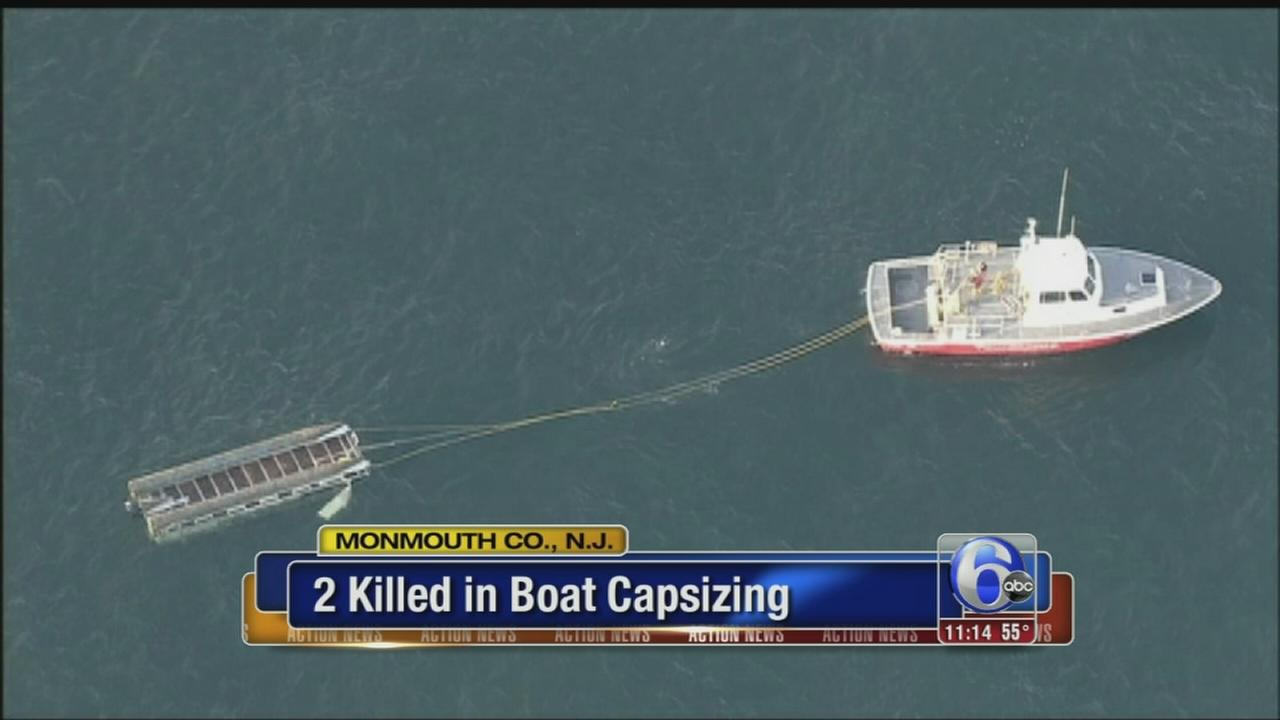 VIDEO: 2 killed in boating accident