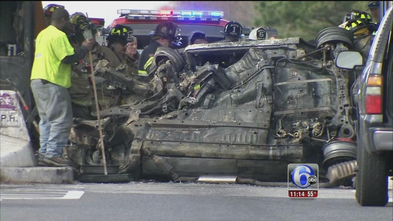 VIDEO: Fatal crash on AC Expressway