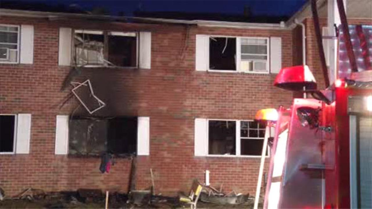 Fire damages Bethlehem apartment complex