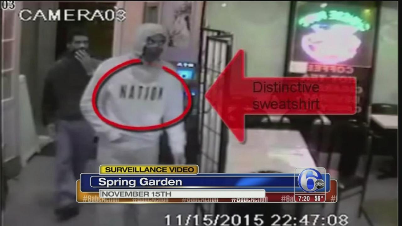 VIDEO: Spring Garden robbery