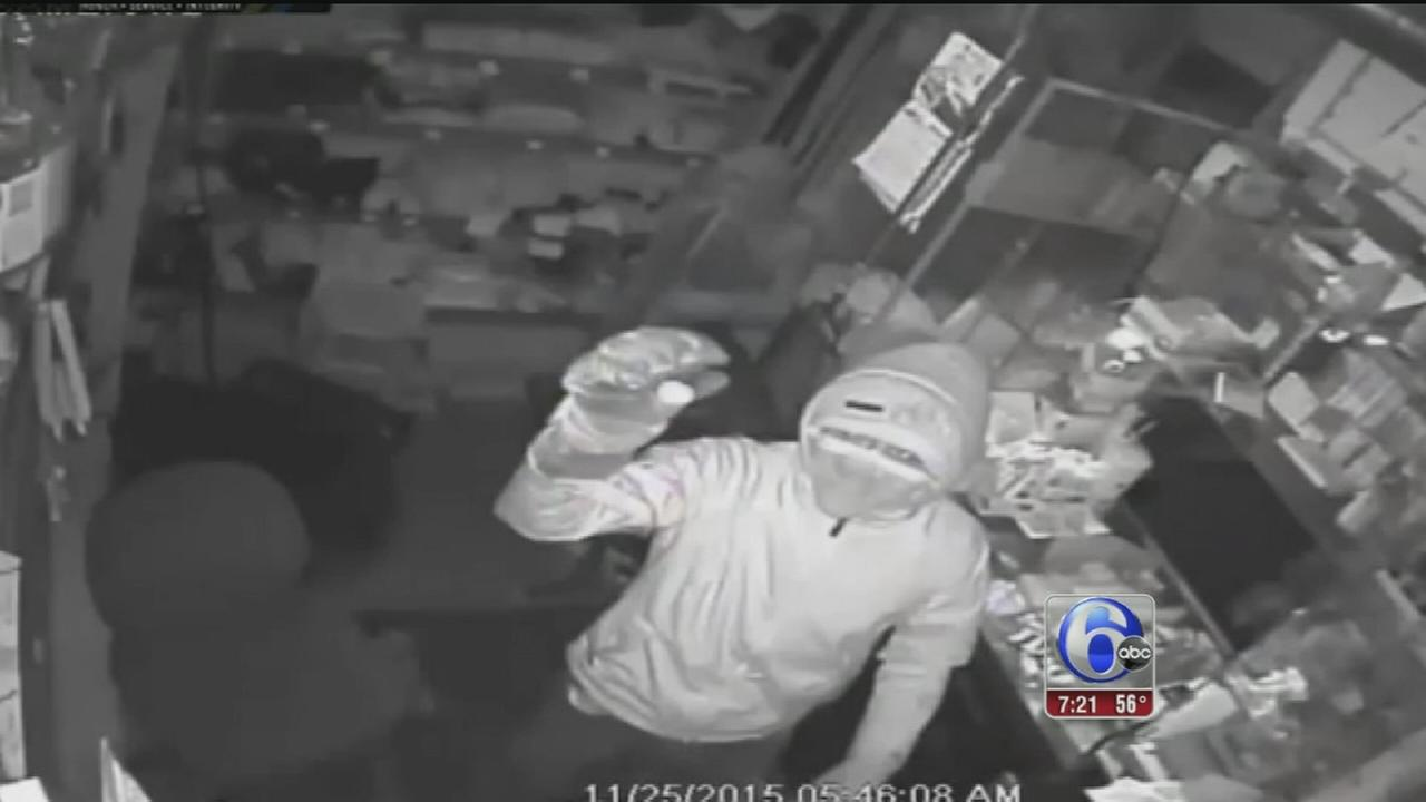 VIDEO: Food market robbery