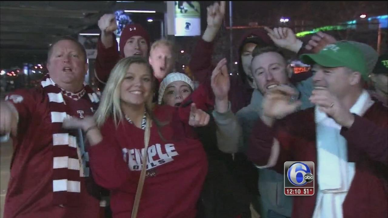 VIDEO: Temple  fans elated after win