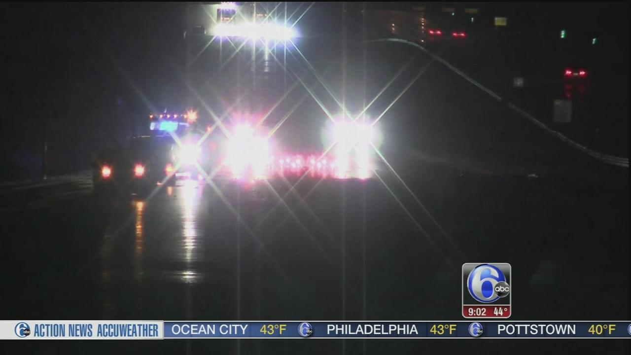VIDEO: 2 injured in I-295 crash