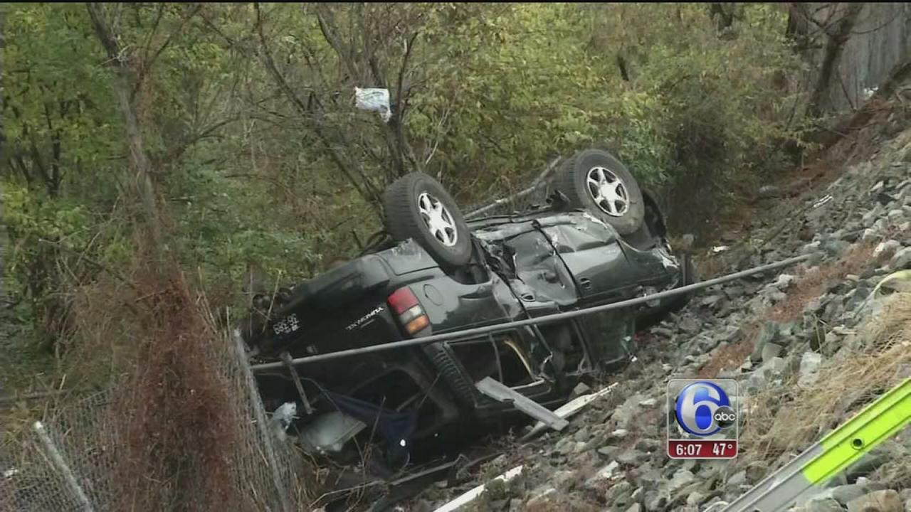 VIDEO: 1 dead, 5 injured in collision