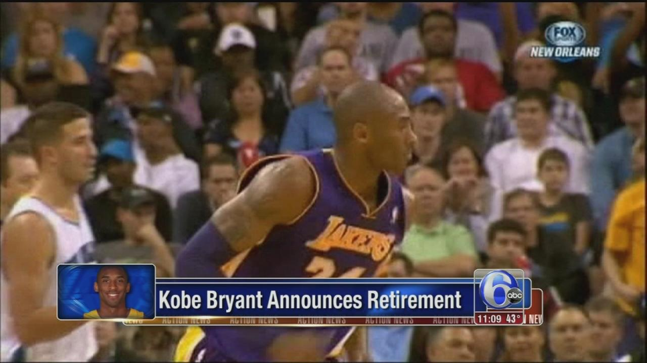 VIDEO: Kobe Bryant plays last season