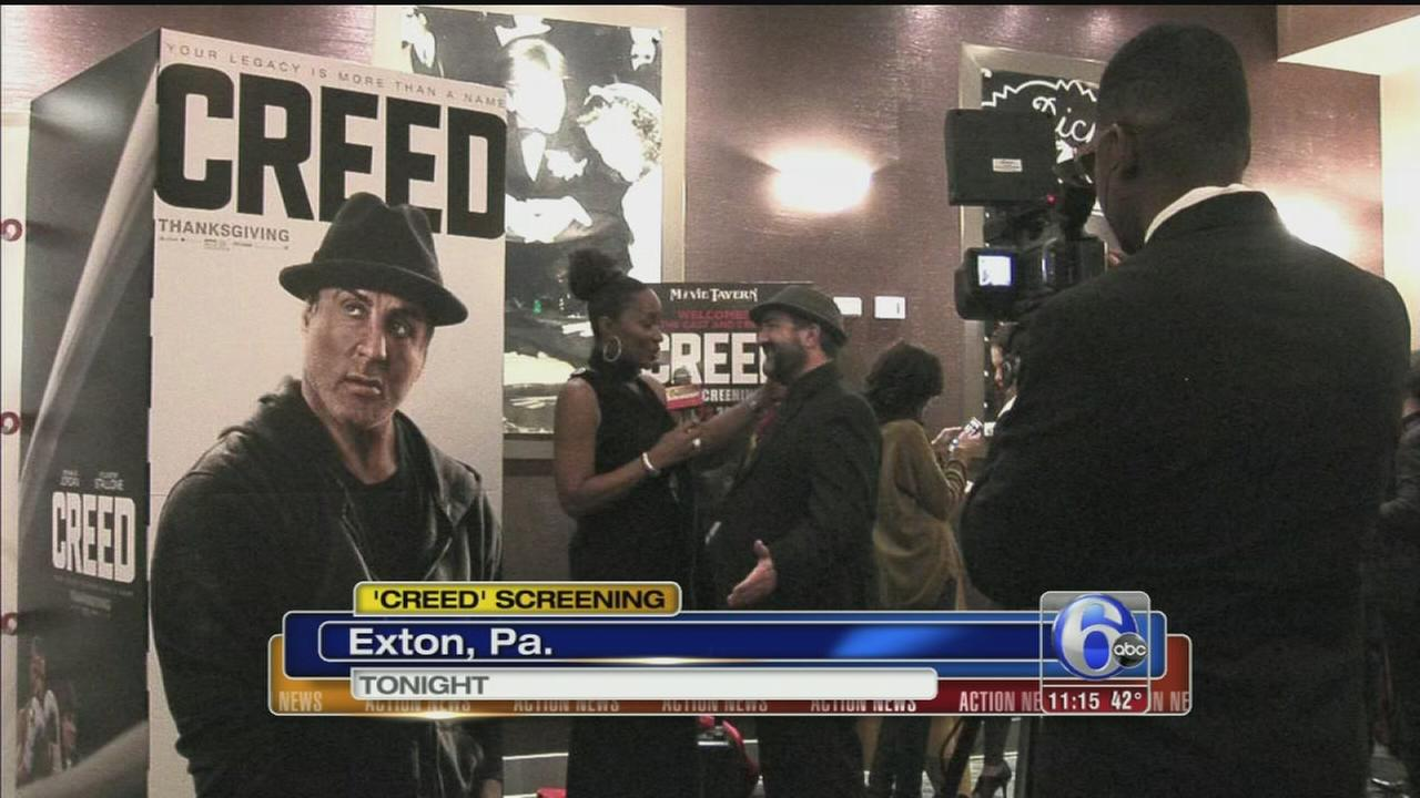 VIDEO: Creed screening
