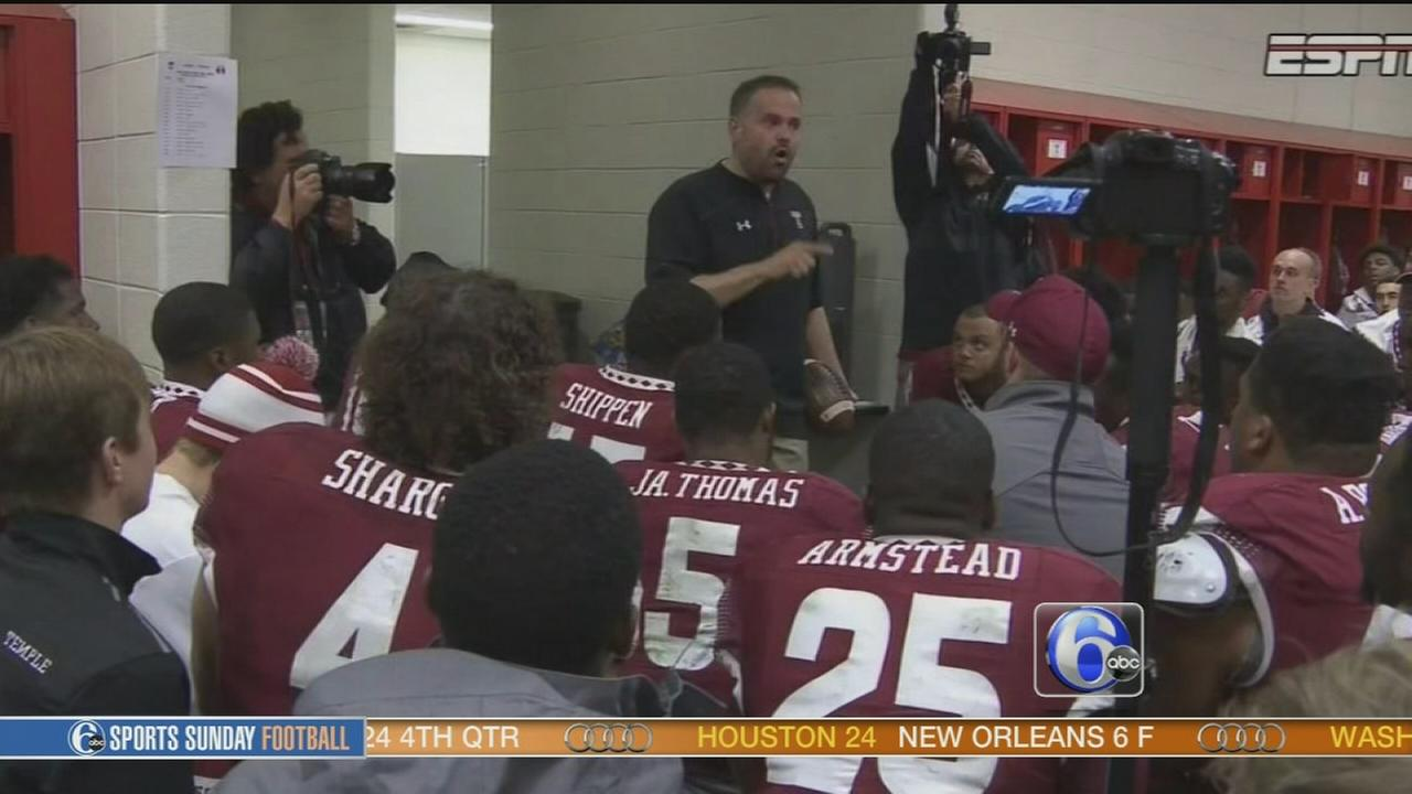 VIDEO: Matt Rhule rumors