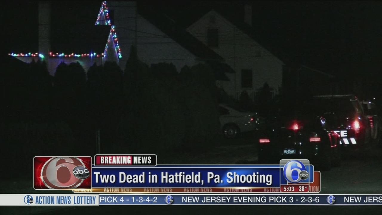 VIDEO: 2 dead in shooting in Hatfield, Pa.
