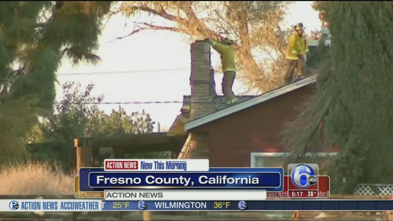 VIDEO: Suspected burglar dies in chimney after resident lights fire