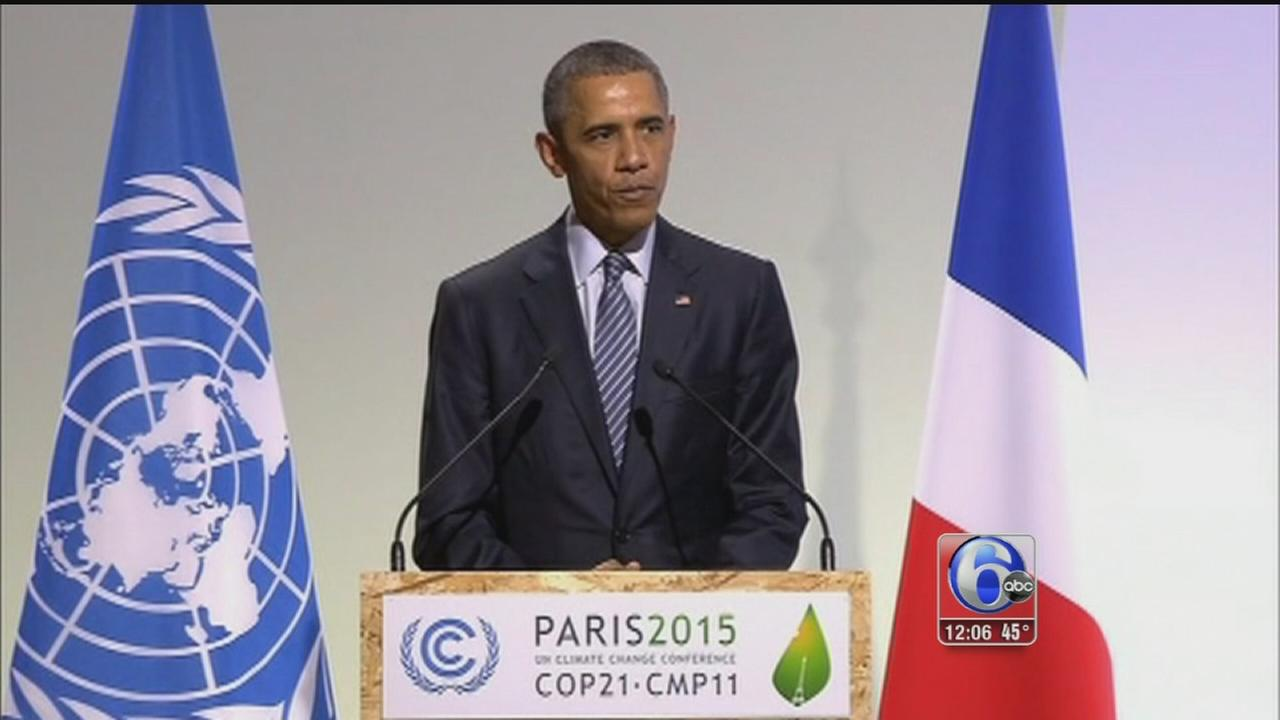 VIDEO: Obama speaks in Paris at Climate Change Conference