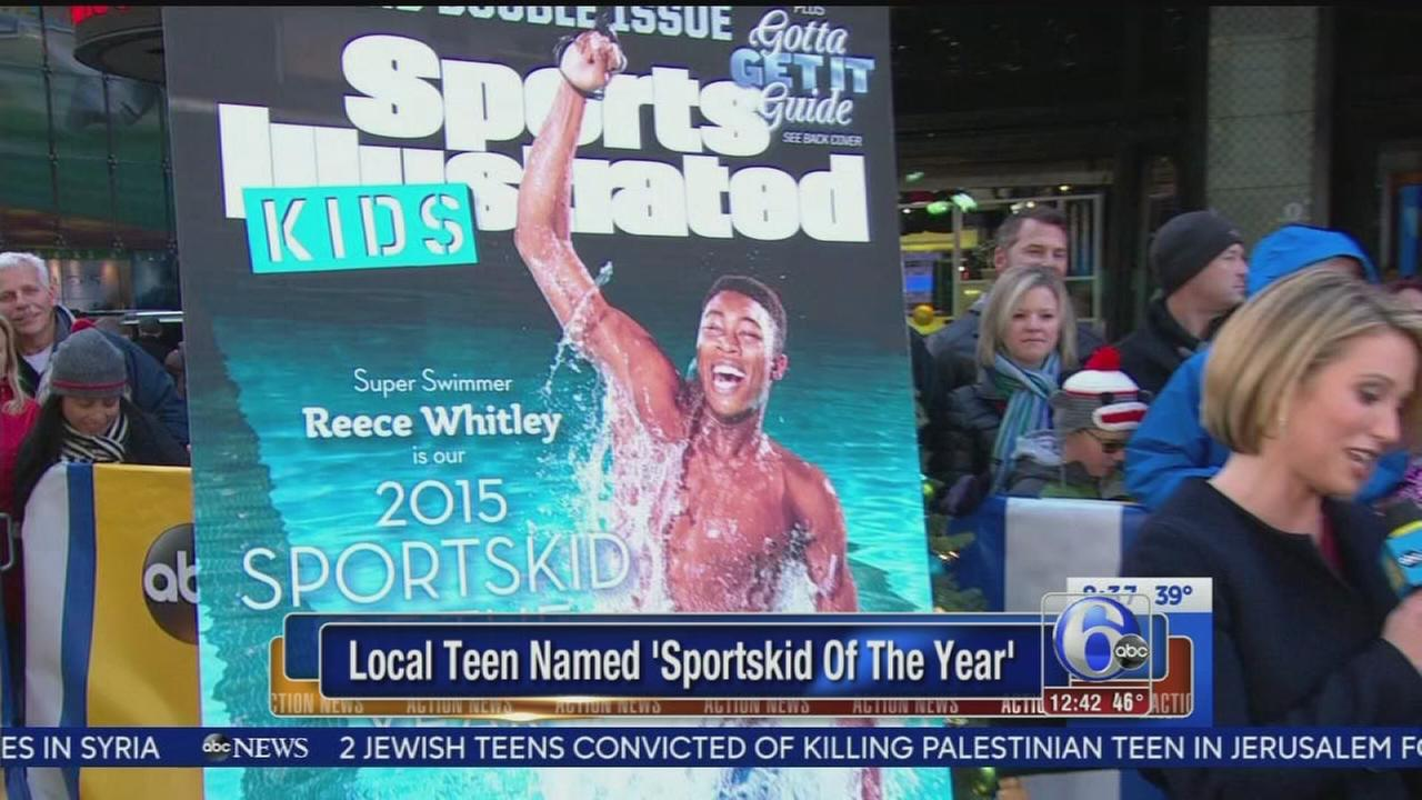 VIDEO: Local teen named Sportskid of the Year