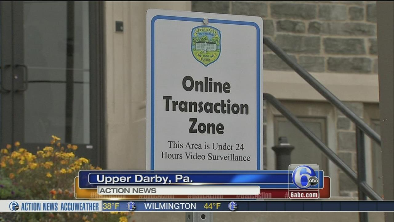 VIDEO: Upper Darby safe zone for online exchanges