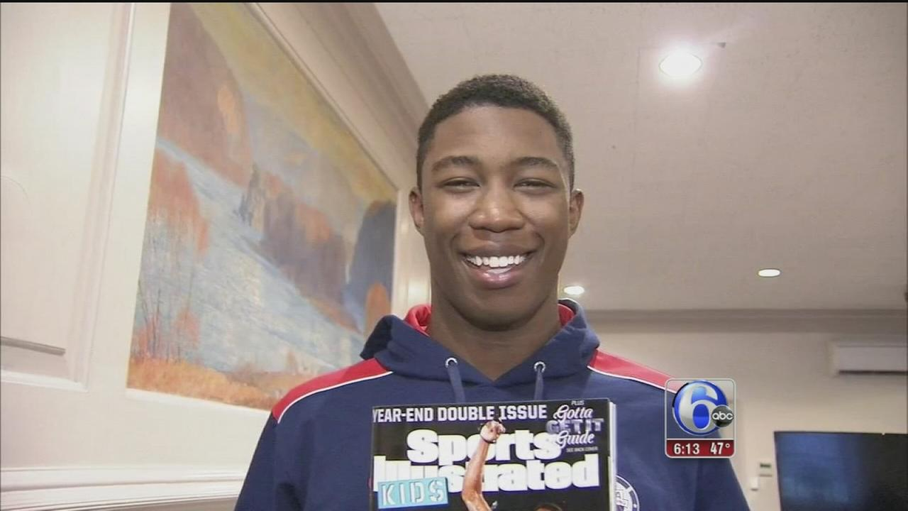 VIDEO: Montco swimmer named Sport Illustrateds Sportskid of the Year