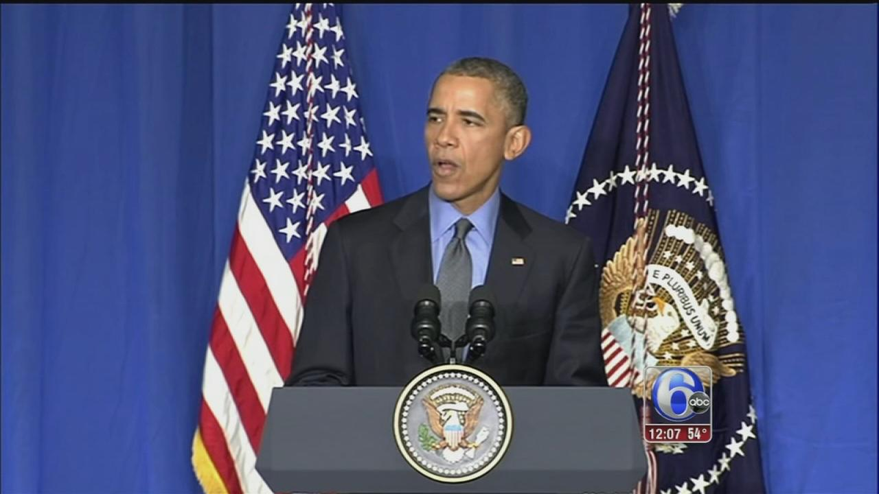 VIDEO: Obama says parts of climate deal must be legally binding